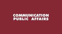 COMMUNICATION PUBLIC AFFAIRS